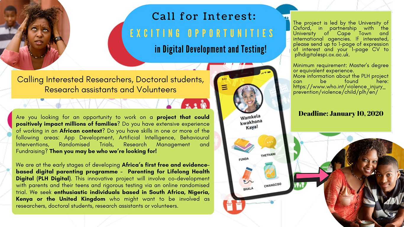 call for interest plh digital