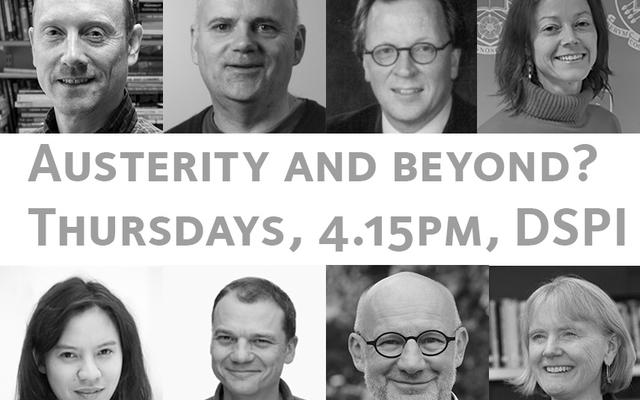 austerity and beyond speakers