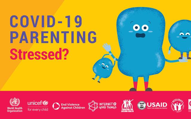 covid 19 parenting image