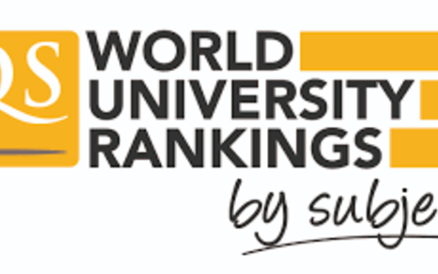 QS subject rankings logo