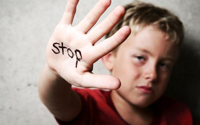 stop child