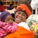 a grandmother with her grandchild at the plh for young children programme credit gregor rohrig