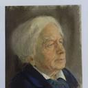 Violet Butler portrait by Peter Wardle 1968