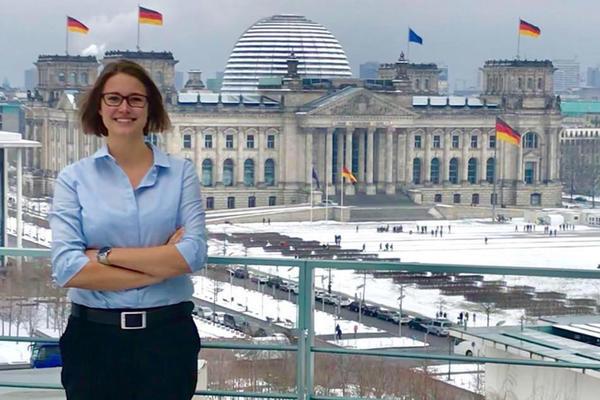 Kim in Berlin