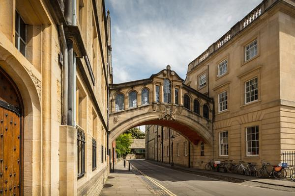 Bridge of Sighs by Michael D Beckwith, Flickr