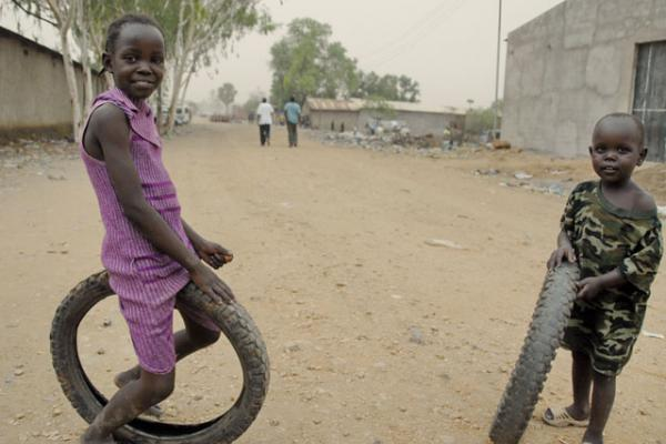 children in juba