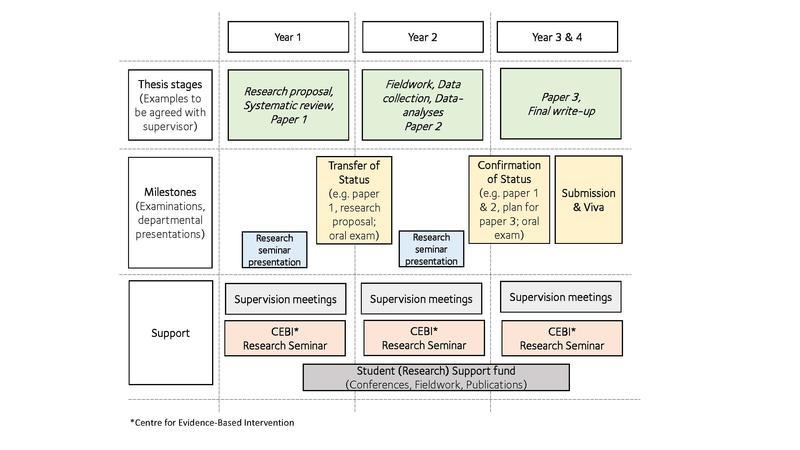 dphil ebsipe course diagram