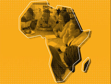 Image of Africa from Accelerate Hub report