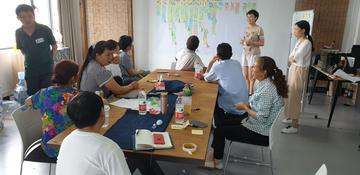 Creative discussion group in Guizhou Province, China