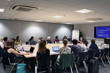 Full workshop group