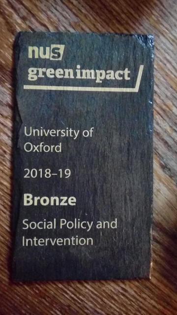 green impact bronze