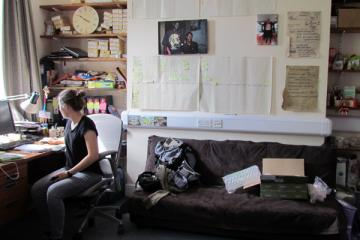 Office: work in progress by Teena Stabler, 2015