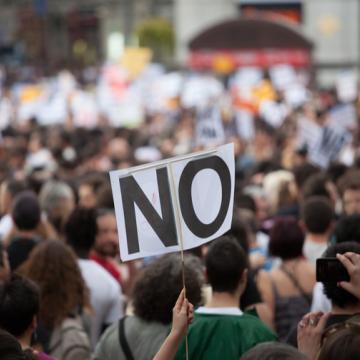 politics rg protest